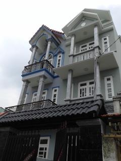 Nhà mới, hẻm rộng lê văn khương, (4x15), đúc 3,5 tầng, 4pn