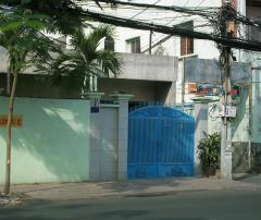 Cho thuê nhà góc 2 mt 115a lê quang định 7x21 60tr/tháng.