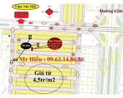 Bán đất cổng phụ đh & viện nhi mới khu đô thị phía nam hd