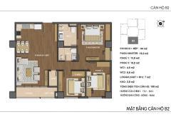Cần bán căn b2 hongkong tower, 108m2, 3 phòng ngủ, cách công