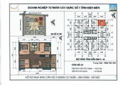 Bán căn góc 3 ngủ view hồ chung cư hh2b linh đàm cực đẹp