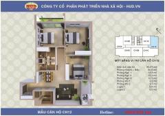 Bán căn 3 phòng ngủ, dt: 95.67m2 chung cư a1ct2 linh đàm