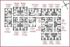 Udic riverside 122 vĩnh tuy bán căn hộ 62m2-134m2m2