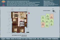 Tôi bán căn hộ 504 b1 chung cư b1b2 linh đàm - 0913.583.913