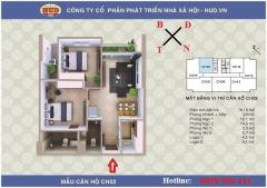 Bán chung cư a1ct2 linh đàm nhận nhà ngay 75m2 - 2 phòng ngủ