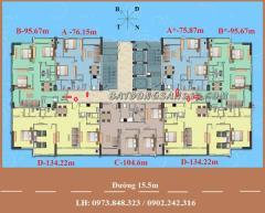 Cần bán căn hộ suất ngoại giao chung cư hud linh đàm - 134m2