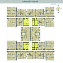 Bán căn 2001h2 chung cư hud3 nguyễn đức cảnh