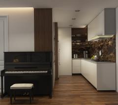 Bán căn hộ 134m2 (3 p.ngủ, 3 wc) chung cư a1ct2 linh đàm
