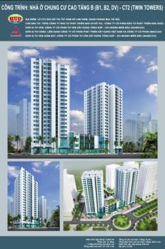 Mua - bán suất ngoại giao căn hộ chung cư b1b2 ct2 linh đàm