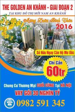 10-01-2016 mở bán the golden an khánh 32t giá gốc ko chênh