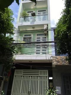 Bán nhà gấp dt 3.3mx9m, đúc 3 tấm, giá 2.5 tỷ, hẻm đường 3b
