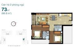 Bán căn hộ lexington residence q2, 73m2, 2,480 tỷ