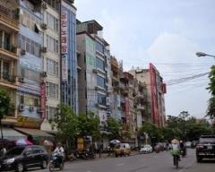 Bán nhà mặt phố đào tấn diện tích 91m2 ,lô góc mặt tiền rộng