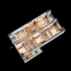 Chính chủ bán cc cao cấp hồ gươm plaza giá 1,6 tỷ,dt 60,7m,m