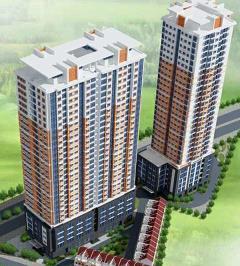 Cho thuê căn góc chung cư c14 bắc hà, dt 107m2-giá 7.5 triệu