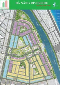 Bán đất biệt thự ven sông đà nẵng trong khu đh quốc tế