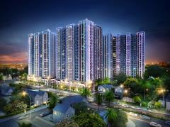 Novaland- căn hộ richstar 2 mặt tiền đường, chủ từ 1.28 tỷ.