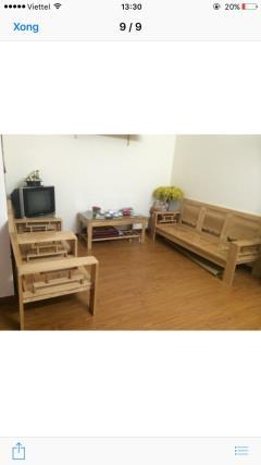 Cho thuê căn hộ 1pn đủ đồ chung cư hh3c linh đàm