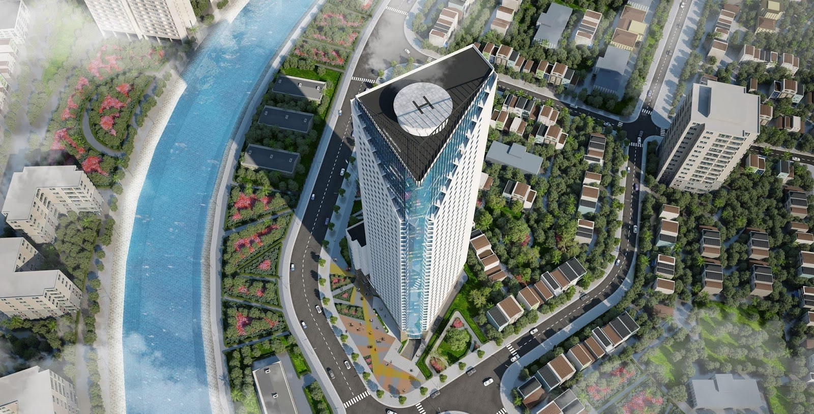 Tổng quan dự án tháp doanh nhân