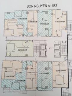 Bán căn hộ tòa 21t2 khu a14 nam trung yên