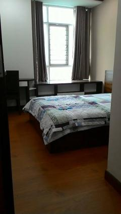 Cho thuê căn hộ 2 pn, 2 pvs, đầy đủ nội thất