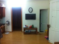 Cho thuê căn hộ 2 phòng ngủ chung cư ct1 bắc hà. giá 7 triệu