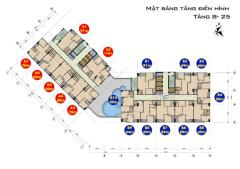 Trung tâm mỹ đình,chỉ từ 25 tr/m2,full nội thất,ck đến 9 %