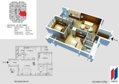 Cần bán gấp căn 03 chung cư hapulico 24t 109 m2
