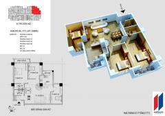 Chính chủ cần bán căn góc đẹp 06 chung cư hapulico 17t1  128