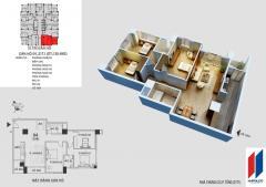 Cần bán chung cư hapulico căn góc 04 tòa 21t1 120,4 m