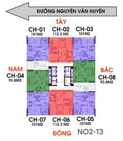 Bán căn hộ cao cấp tầng 6 và 14 tòa n02 t3 khu ngoại giao đo