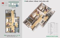 Bán căn hộ 1010 dự án nhà ở bright city - hỗ trợ gói vay 4,8