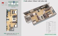 Sang nhượng căn hộ tầng 16 tòa a1.2 dự án bright city