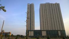 Cho thuê căn hộ gemek dt 92m2, 2 pn, căn góc, tầng trung