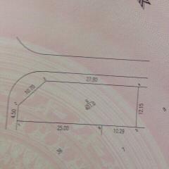 Bán đất mặt đường thạch hòa, 401m2, lô góc, mặt tiền 28m