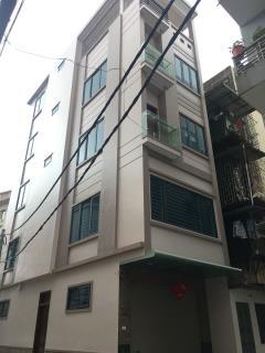 Bán nhà 5 tầng trong ngõ hoàng quốc việt, cầu giấy, hà nội