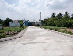 Bán đất 4x15.5m thổ cư 100% mặt tiền đường 8m 840tr/62m2 q12