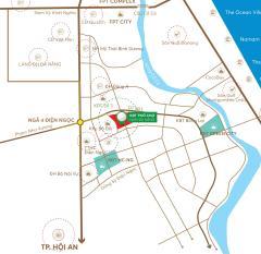 Bán đất cạnh khu đô thị fpt city gia 296 triệu - lh: 0905749