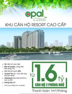 Phân phối độc quyền tầng 4, 7, 8 và 15 căn hộ opal riverside