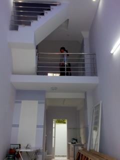 Nhà mặt tiền số, 3 tầng,đúc thật.3pn,2wc.giá 745tr