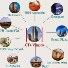 Cần chuyển nhượng căn hộ 123,7m2 chung cư ct4 - vimeco