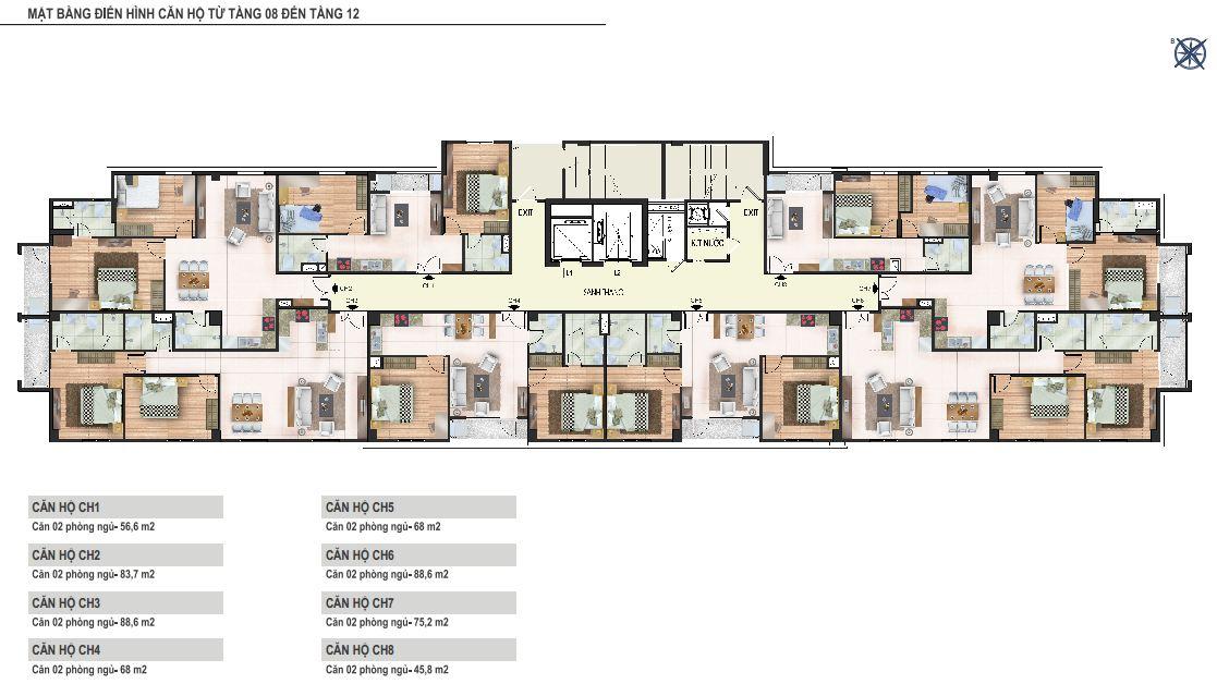 Chung cư Yên Hòa Condominium ngõ 259 Yên Hòa