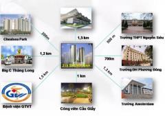 Độc quyền bán suất ngoại giao chung cư 219 trung kính giá tố