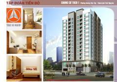 Bán tòa thứ 5 chung cư tiến bộ 200 triệu/70 m2 thái nguyên