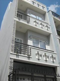 Cho thuê nhà đường nội bộ 8m d2 ,q. bình thạnh ,4*20 ,2 lầu