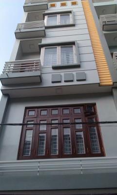 Bán nhà kim giang, dt 30m2x5t, mt 4m, ngõ 2,4m, cách ôtô 80m