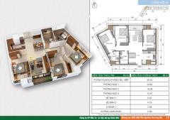 Cần tiền gấp bán căn hộ 2310 hh2a xuân mai spark tower full