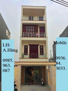 Bán nhà xây độc lập 4 tầng x 90m2. hướng tây nam,193 văn cao