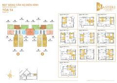 Cần bán căn 2 phòng ngủ 71m2 masteri thảo điền tháp t4