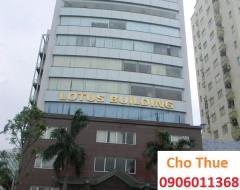 Tòa lotus building phố duy tân cho thuê văn phòng